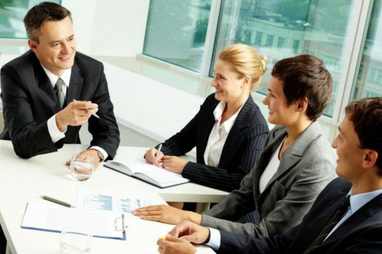 Telkiant komandą taip pat svarbu gebėti perduoti organizacijos arba padalinio viziją.