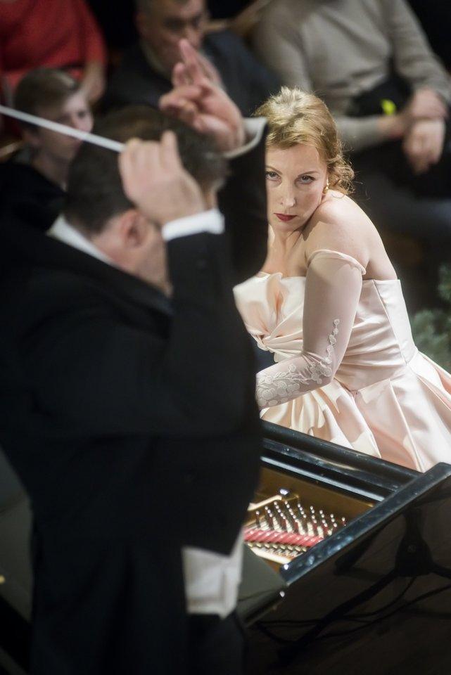 "Koncertas""Žiemos svajos"".<br>D.Matvejevo nuotr."