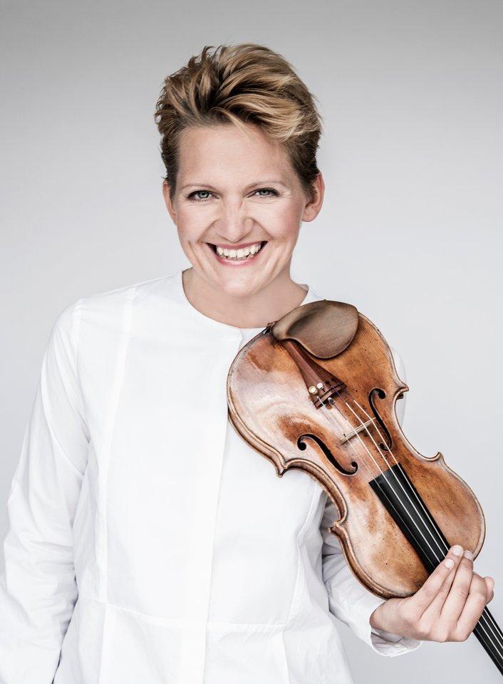V.Sareika griešA.Stradivariaus smuiku.<br>Organizatorių nuotr.