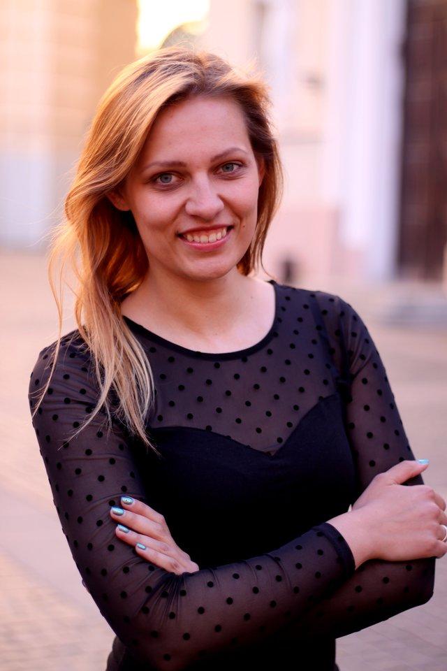 Parapijos choro vadovė vargonininkė Indrė Veličkaitė.<br>Organizatorių nuotr.
