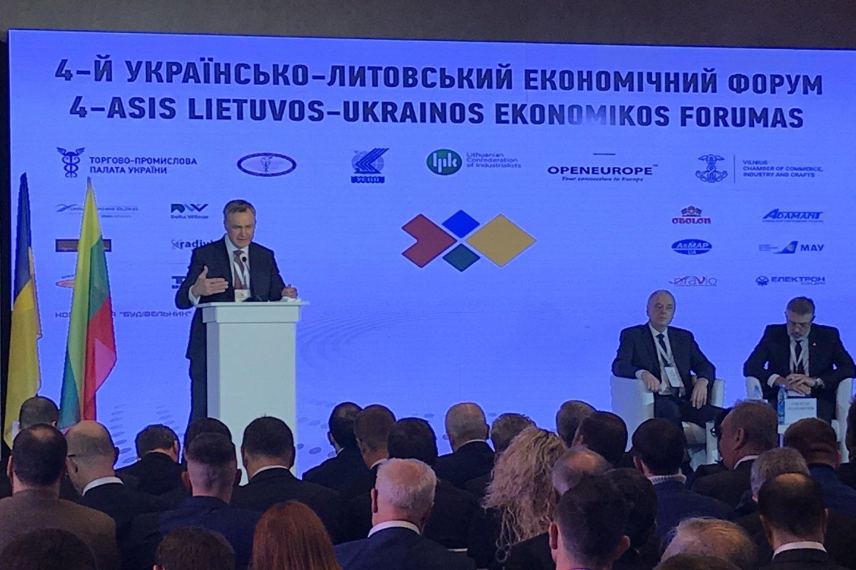 Pasak R.Dargio, Ukrainai Lietuva gali tapti vartais į ES.