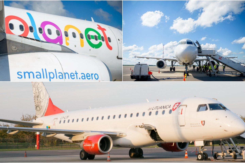 """""""Small Planet Airlines"""" – dar viena liepto galą priėjusi Lietuvos oro bendrovė."""
