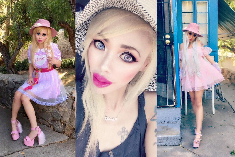 Gyvoji Barbė už išvaizdos patobulinimus sumokėjo per 47 tūkst. eurų.<br>Instagramo nuotr.