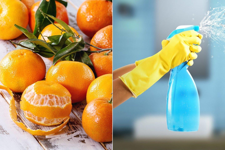Natūralus valiklis ne tik gardžiai kvepės, bet ir efektyviai nuvalys stiklo, keramikos ar plastiko paviršius.<br>123 rf nuotr.
