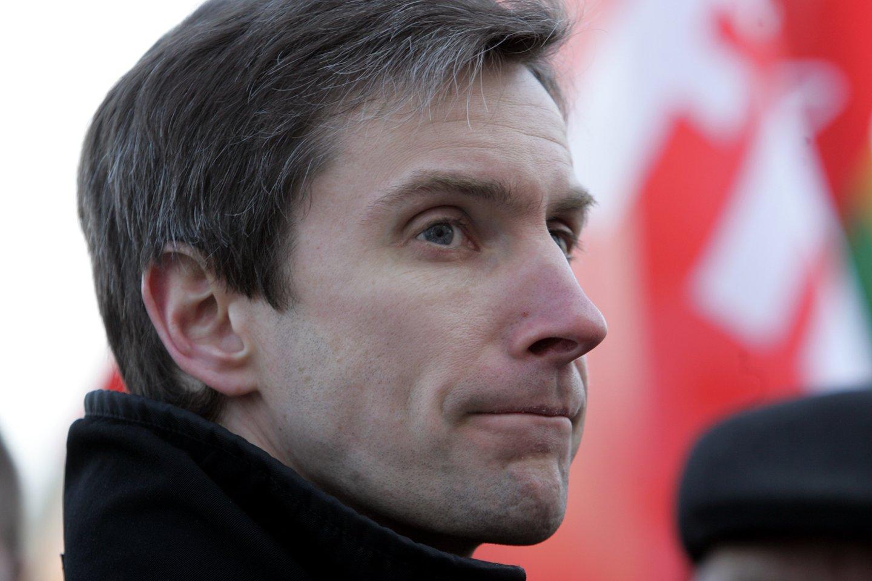 A.Paleckis buvo suimtas dėl galimo šnipinėjimo.<br>V.Balkūno nuotr.