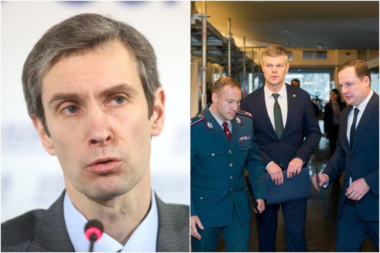 A.Paleckis buvo suimtas dėl galimo šnipinėjimo.<br>lrytas.lt montažas.
