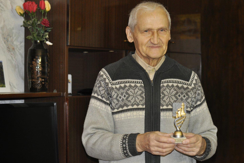 Jono Patacko aistrą visą gyvenimą buvo šachmatai.<br>Nijolės Zenkevičiūtės nuotr.