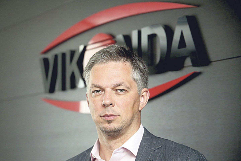 """Koncerno """"Vikonda"""" generalinis direktorius Mindaugas Snarskis."""