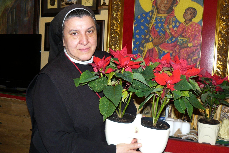 Sesuo Michaela Rak.<br>Aurelijos Babinskienės nuotr.