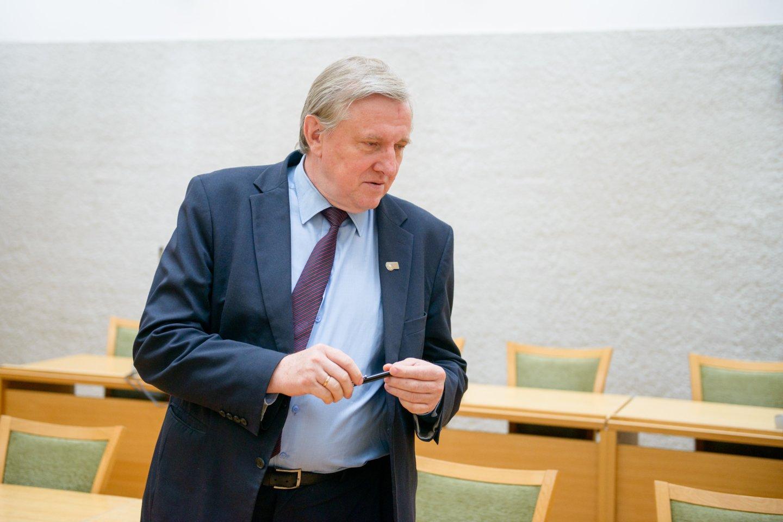 Rimantas Jonas Dagys mano, kad valstybė turėtų šeimai teikti pagalbą.<br>J.Stacevičiaus nuotr.