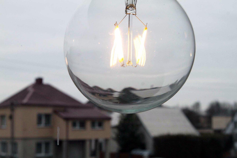 Dėl sudėtingų oro sąlygų šiuo metu elektros neturi per 2 tūkst. ESO klientų.<br>M.Patašiaus nuotr.