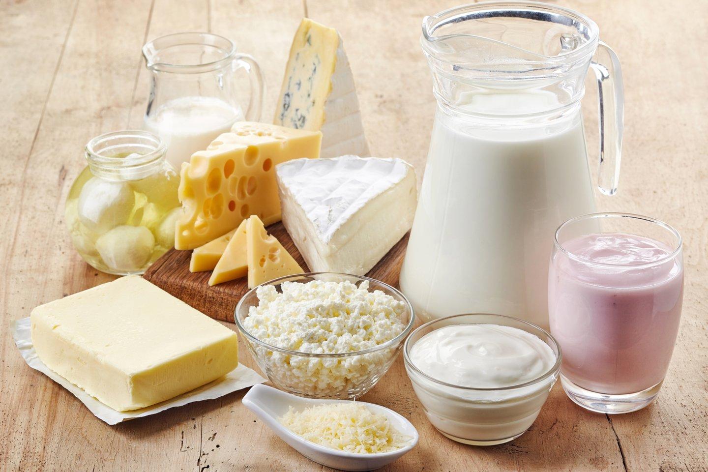 Pieno produktai mūsų organizmui teikia didelę naudą.<br>123rf nuotr.