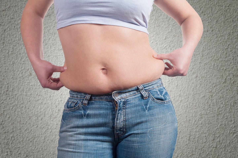 Mokslininkai yra nustatę, kad vienas iš galimų streso padarinių yra padidėjęs svoris.<br>123rf nuotr.