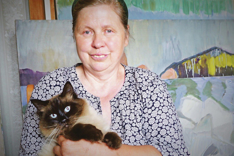 Įsimintiniausia Kauno menininke šiais metais tapo tapytoja A.Petrašiūnaitė.