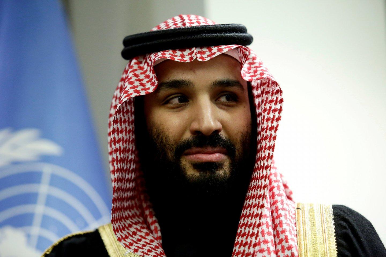 Princas Mohamedas bin Salmanas al Saudas.<br>Reuters/Scanpix nuotr.