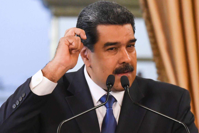 N.Maduro.<br>AFP/Scanpix nuotr.