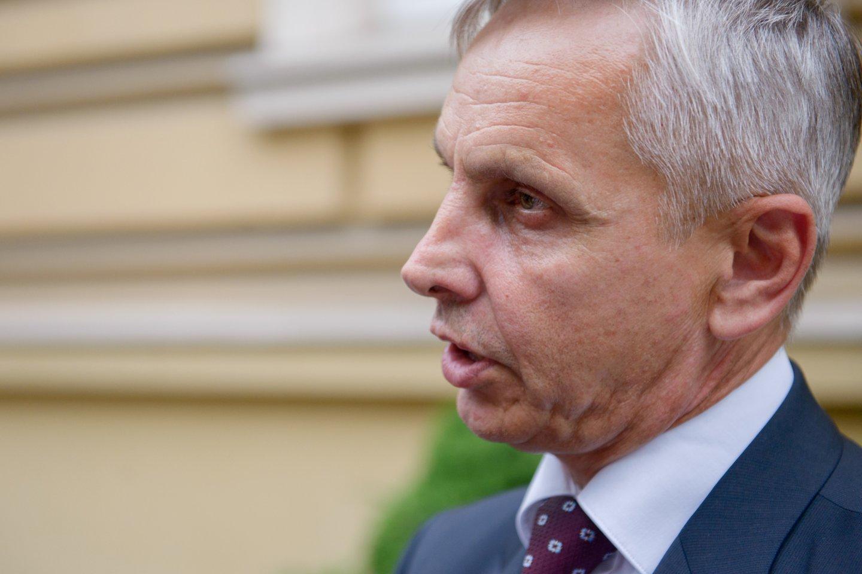 Povilas Urbšys valstiečių frakciją paliko dėl R.Karbauskio veiksmų.