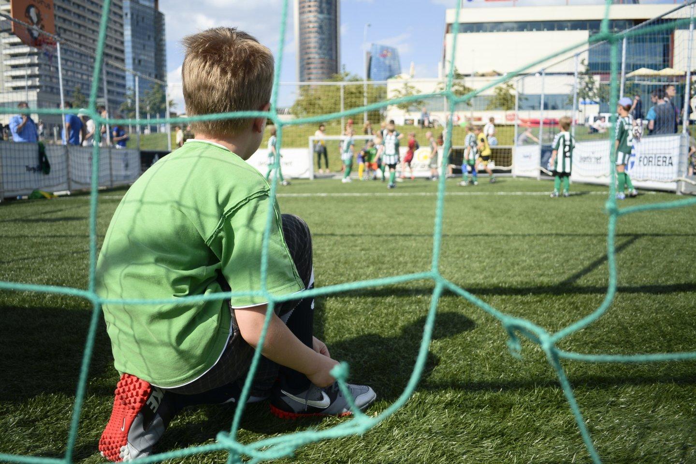 Specialistai tvirtina, kad fiziškai aktyvūs vaikai yra gerokai sveikesni.<br>LR archyvo nuotr.