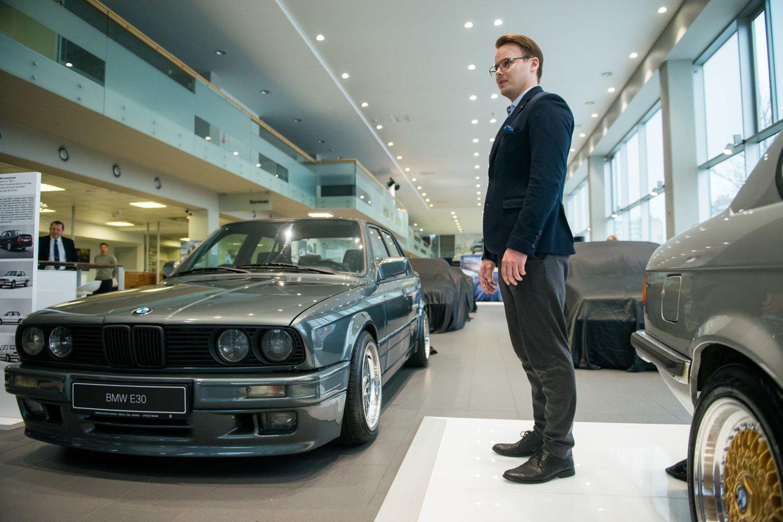 Per naujosios 3 serijos pristatymą gerbėjai išvydo ir visus senuosius modelius.<br>J.Stacevičiaus nuotr.