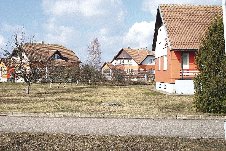Avikilų globos namų kaimelyje atskiruose šeimynų nameliuose gyvena 24 nepilnamečiai globotiniai.<br>L.Juodzevičienės nuotr.
