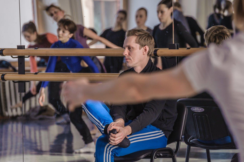 Choreografas Martynas Rimeikis.<br>O.Kasabovos nuotr.