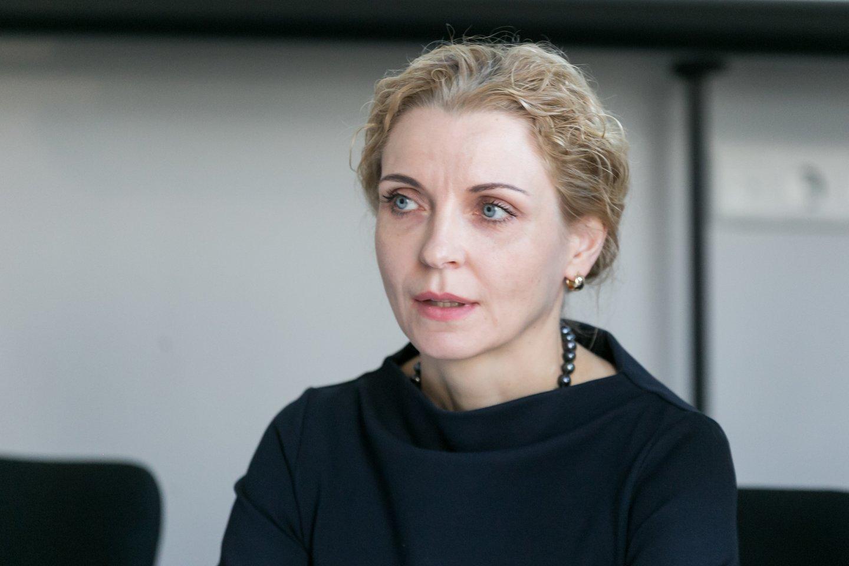 Jelena Stankevičienė, Vilniaus Gedimino technikos universiteto Verslo vadybos fakulteto dekanė.<br>T.Bauro nuotr.