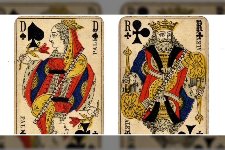 Senovinės Prancūzijos kortos.<br>William Creswell nuotr.