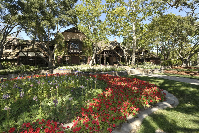 Michaelo Jacksono ranča, kurioje galimai buvo seksualiai išnaudoti vaikai.<br>Scanpix nuotr.