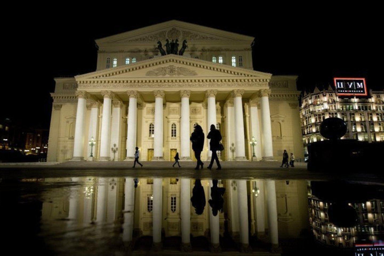 Maskvos Didysis – vienas garsiausių teatrų pasaulyje.<br>D.Jusupovo (Didysis teatras) nuotr.