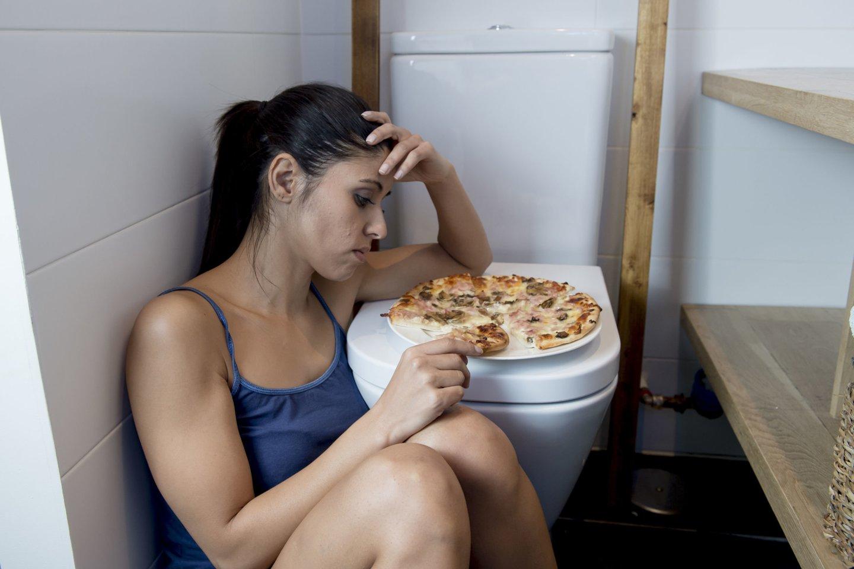 Nervinės bulimijos paplitimas siekia 1-2proc. Skaičiai nedidelidėl tendencijos nuslėpti savo ligą.<br>123rf nuotr.