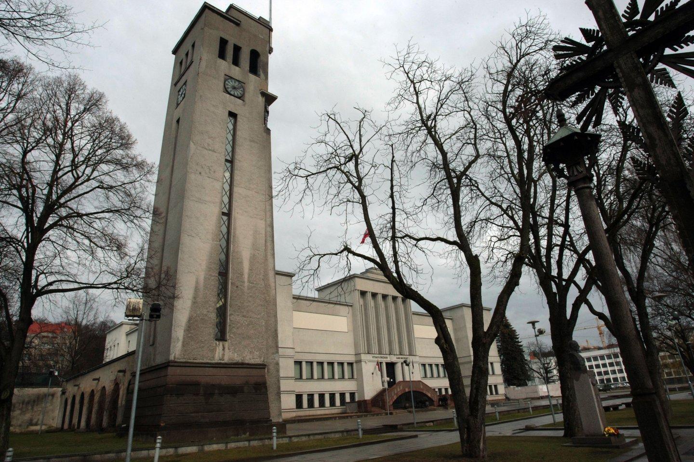Kauno centre stovintis kariljono ir laikrodžio bokštas buvo pastatytas 1937 metais.<br>P.Mantauto nuotr.