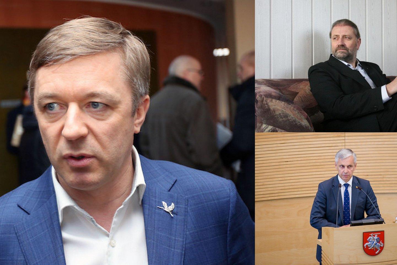 Antrajame mero rinkimų ture partijos pirmininkas laikosi neutralumo, o LVŽS Panevėžio miesto skyrius palaiko korupcija įtariamą kandidatą.<br>Lrytas.lt montažas