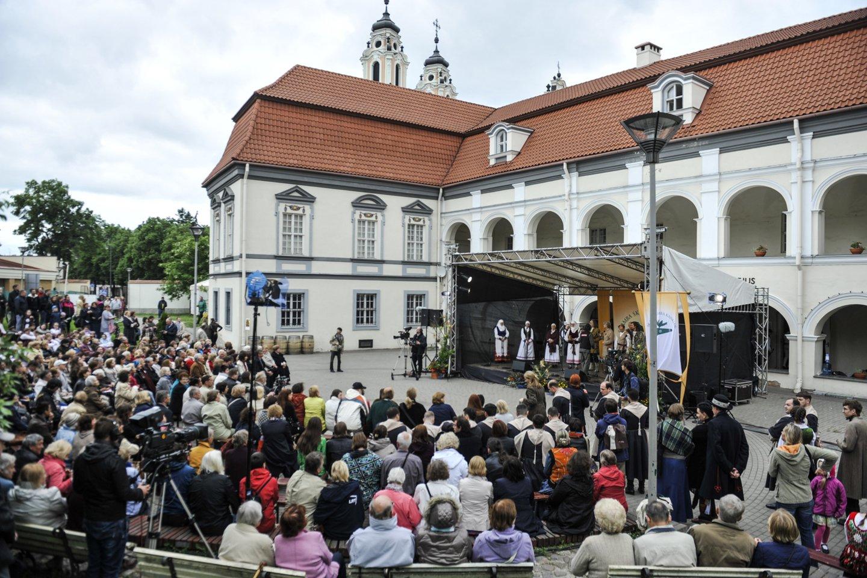"""Folkloro festivalis """"Skamba skamba kankliai""""įtrauktas įNematerialaus kultūros paveldo vertybių sąrašą.<br>V.Ščiavinsko nuotr."""