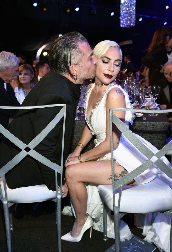 Lady Gaga ir Christianas Carino.<br>Scanpix nuotr.