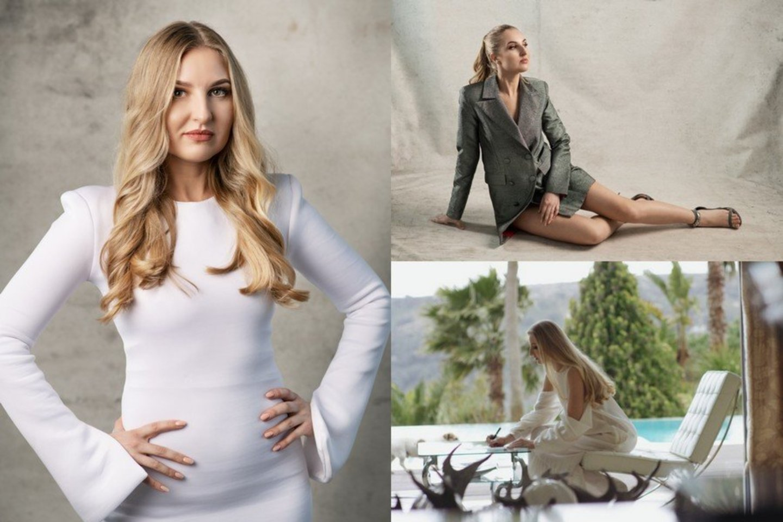 Eleonora Sebrova.<br>D.Ščiukos, M.Rutkausko ir asmeninio albumo nuotr.