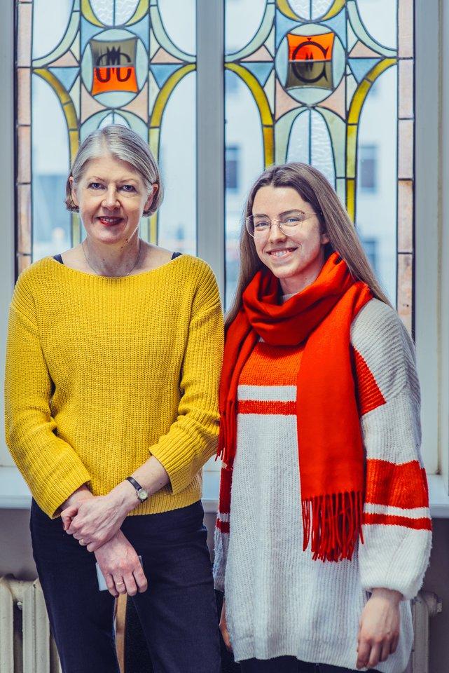 V.Markeliūnienė ir K.Rimskytė.<br>T.Tereko nuotr.