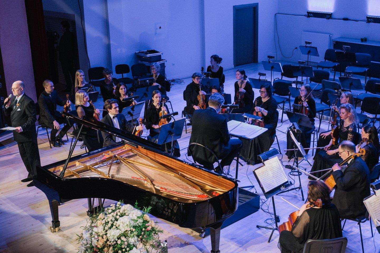 Klaipėdos valstybinio muzikinio teatro simfoninis orkestras.<br>D.Rimeikos nuotr.
