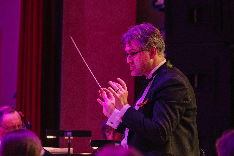 Dirigentas Tomas Ambrozaitis.<br>D.Rimeikos nuotr.
