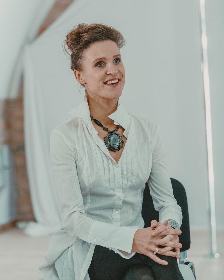 """Choreografė irrežisierė M.S.Šimulynaitė pastatė spektaklį """"Wind Flash"""".<br>G.Jauniškio nuotr."""