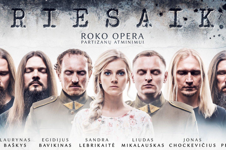 """Roko opera """"Priesaika"""" į bendrą kūrybinį darbą sutelkė roko muzikantus ir operos solistus."""