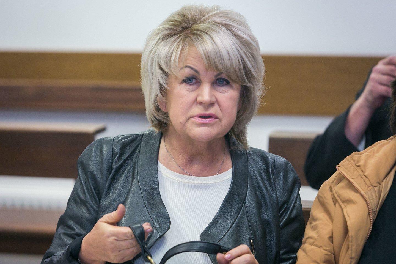 Griežčiausią bausmę buvo pasiūlyta paskirti garliaviškei A.Skučienei.<br>T.Bauro nuotr.