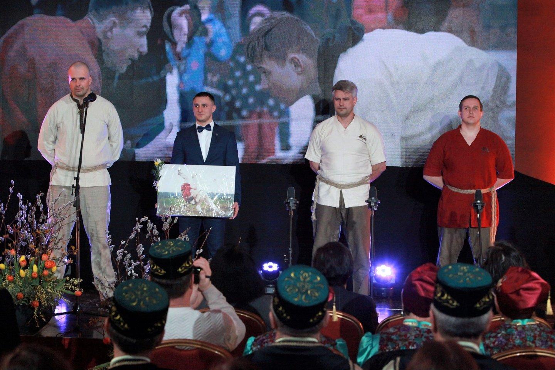 Iškilmingos ceremonijos akimirka.<br>Organizatorių nuotr.