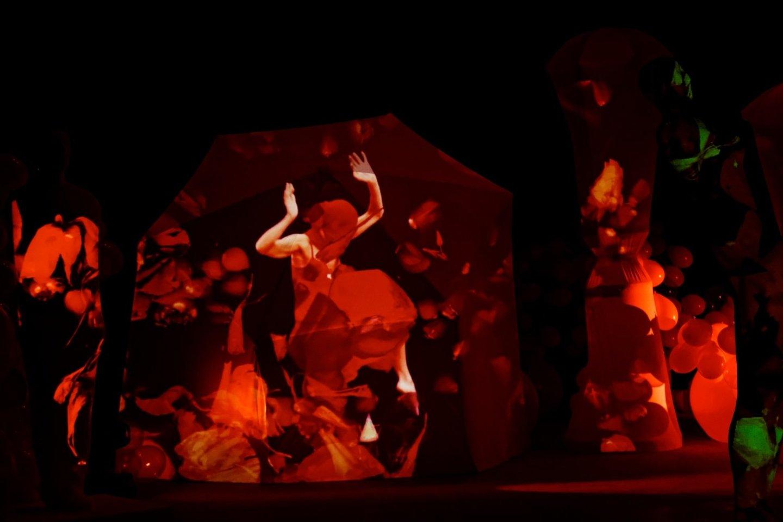 """Kadras iš medijų operos """"Traviata""""."""