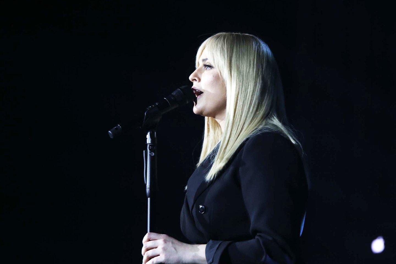 Inga Jankauskaitė Kaune surengė jaukumu dvelkiantį koncertą.<br>M.Patašiaus nuotr.