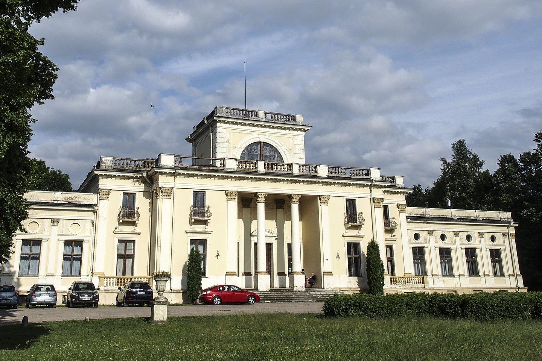 Trakų Vokės dvaro rūmai.<br>V.Ščiavinsko nuotr.
