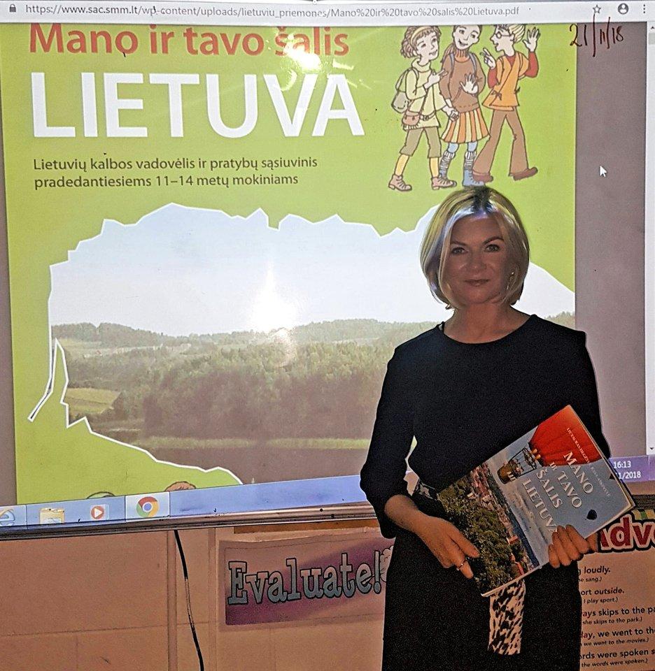 Naujos patirties pasisemti į Airiją J.Urbelienė išvyko 2015 metais. Nuo tada, pačios pradžios, ir dirba lietuvių kalbos mokytoja Dubline.<br>Asmeninio albumo nuotr.