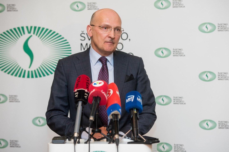 Lietuvos dviračių sporto federacijos prezidentas Romualdas Bakutis<br>D.Umbraso nuotr.