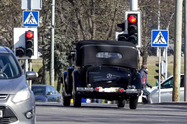 Mercedes-Benz 290 Cabrio D.<br>V.Ščiavinsko nuotr.