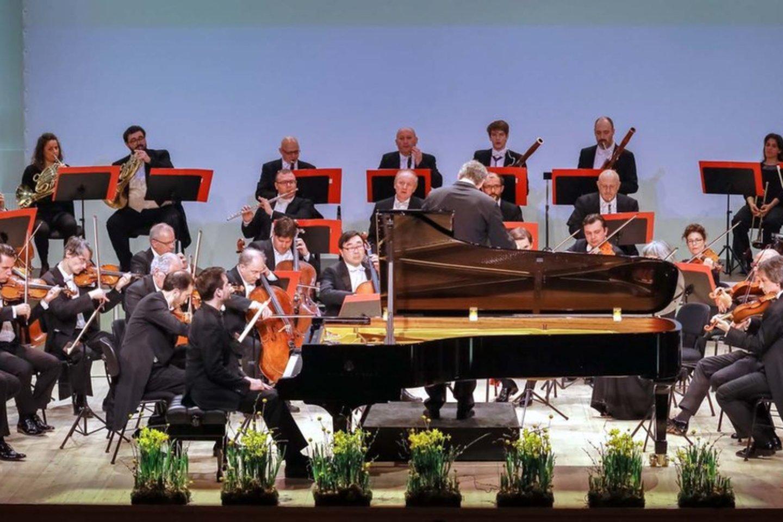 "Šveicarų kolektyvas ""Orchestra della Svizzera Italiana"" .<br>KKS nuotr."