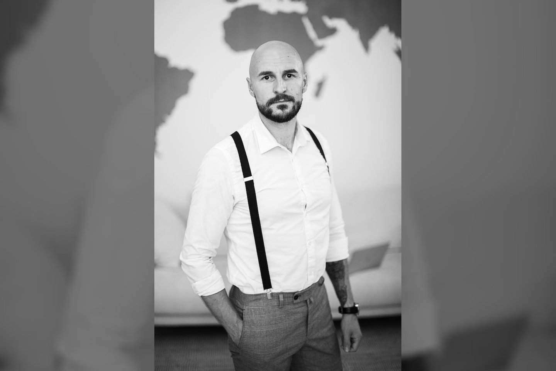Lektorius, diplomuotas mitybos ir verslo vadybos specialistas Vadimas Zizas.<br>Asm. archyvo nuotr.